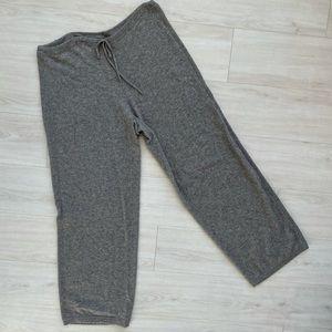Neiman Marcus cashmere pants grey XL drawstring
